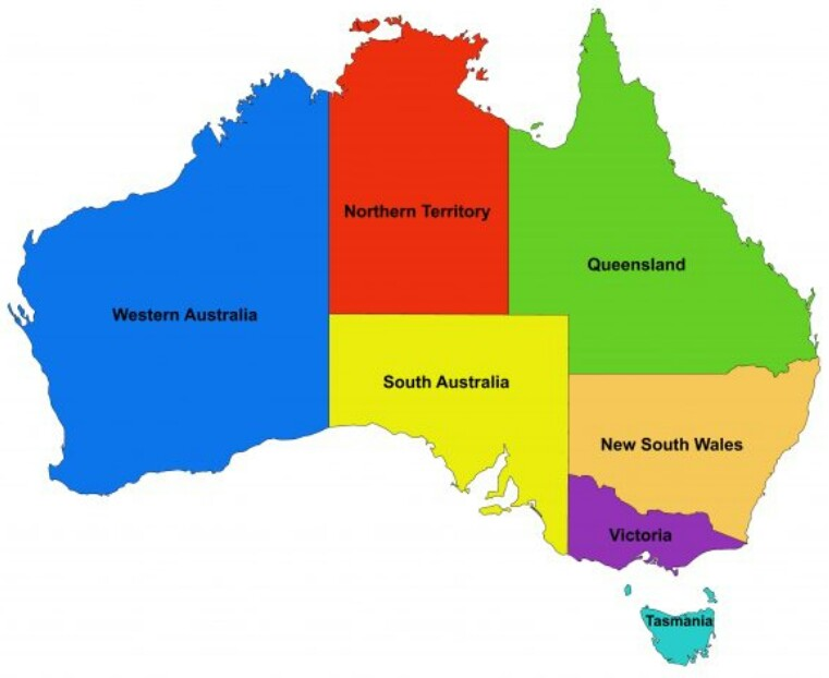 Australia provinces