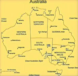 Australia30 states