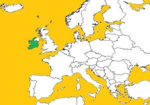 アイルランドは、欧州大陸にも近く、北米には欧州で一番近い。