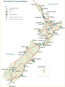 NZ Transport Networks