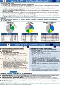 EUJEPA MOFAjapan Benefits