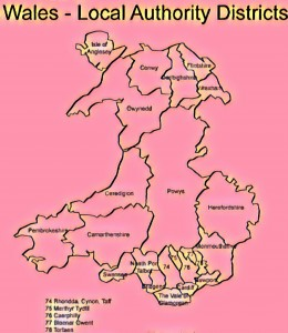 Wales LocalAuthorityDistricts