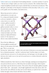 SciTech61 #GalliumArsenide @ChemistryWorld,@BrianClegg