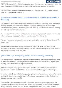 World122-Maine15 ME-population @WGME,@AP