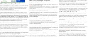 World123 Cobalt @EnergyMetals,@INN_Resource
