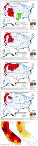 World141 highest-wildfire-risk @FBAdvocateNews,#DroughtMonitor,@USDA