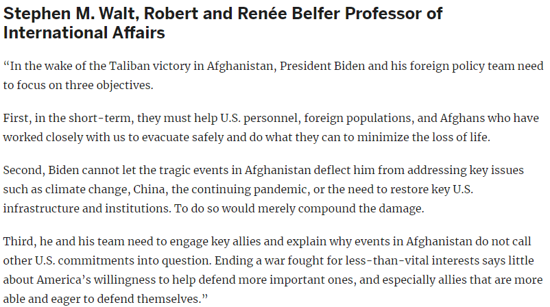 World171 What Does the Taliban Takeover Mean for Afghanistan and the Region @BelferCenter