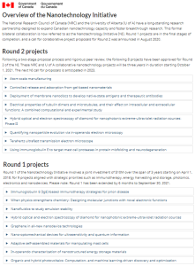 Canada35 8 new R&D projects @NRC_CNRC