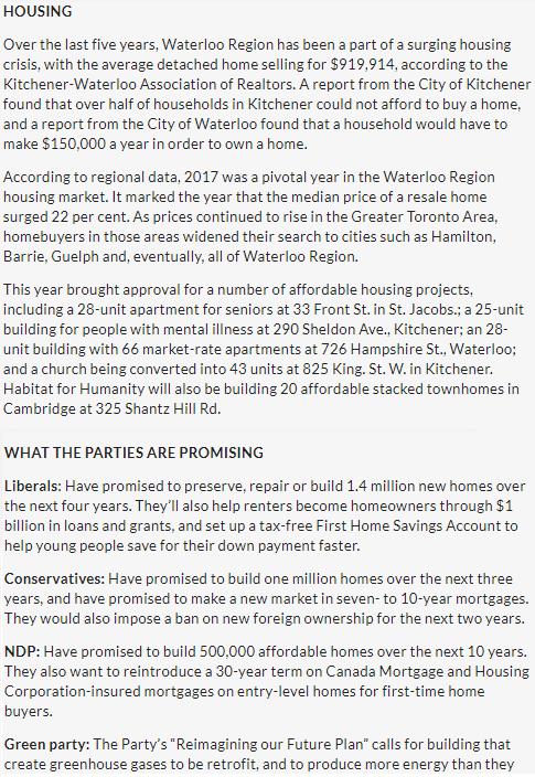 Canada54 housing @cambridgetimes