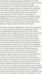 World189 semiconductors Europe doesnt need a mega-Fab @Bruegel_org,@nfPoitiers